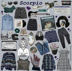 scorpio // so nice - Jasper - Astrology party Fashion Mode, Aesthetic Fashion, Grunge Fashion, Aesthetic Clothes, Aesthetic Memes, Fashion Outfits, Grunge Goth, Estilo Grunge, Zodiac Signs Scorpio