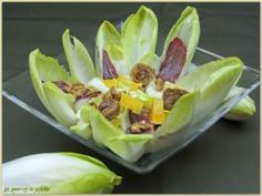 Salade d'Endives, Vinaigrette à l'Orange
