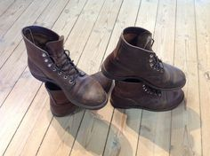 RWIR 8111+8085 Red Wing Iron Ranger, Biker, Boots, Fashion, Crotch Boots, Moda, Fashion Styles, Shoe Boot, Fashion Illustrations
