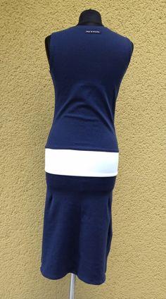 upper palatinate rocks: WOMEN 2014 tennis dress d'blue/white