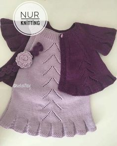 Best 12 July Duarte's media content and analytics – SkillOfKing. Baby Booties Knitting Pattern, Baby Hats Knitting, Knitting For Kids, Baby Knitting Patterns, Knitting Designs, Girls Sweaters, Baby Sweaters, Baby Dress Patterns, Knitted Baby Clothes