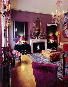 The Stylist's Salon March 2009 - The World of Interiors.....FB Junkroom Gypsy