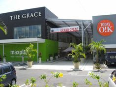 The Grace Furniture Store. Living Design Square – Awase, Okinawa. Hwy 329. Info-Link.