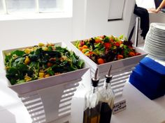 Mint Caters at Location05 for Nice Actimize's all day employee event! Check out this Savory Salad