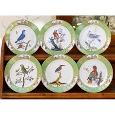 displaying china platters | Click here to view a larger image.
