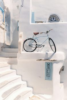 Bicycle in Tinos, Greece