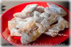 Bugnes oder französische Karnevalskrapfen #bugnes #carnaval #fasching #karneval #berliner #krapfen #essen #rezept #frankreich #franzoesisch
