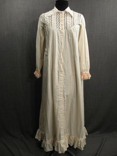 nightgowns 19th century - Google Search