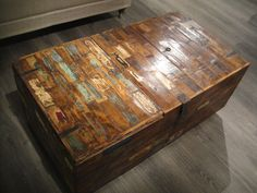 39 Awesome reclaimed wood coffee table with storage images