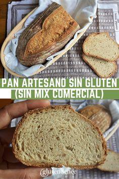 Gluten Free Recipes, Bread Recipes, Baking Recipes, Artisan Bread, Queso, Delicious Desserts, Good Food, Meals, Healthy