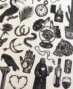 pattern tattoos meaning Bild Tattoos, Dope Tattoos, Unique Tattoos, Tattos, Tattoo Sketches, Tattoo Drawings, Traditional Black Tattoo, Tattoo Filler, Old School Tattoo Designs