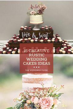 Creative Rustic Wedding Cakes Ideas #rusticcakes Pretty Wedding Cakes, Wedding Cake Rustic, Amazing Wedding Cakes, Cake Holder, Wooden Cake, Rustic Theme, Wedding Inspiration, Wedding Ideas, Wedding Decorations