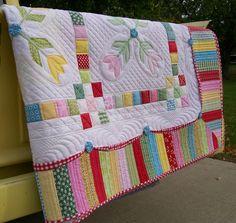 Tulip quilt-Done!