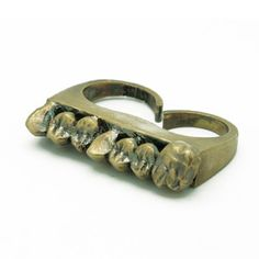 Cadaver Tooth Double Ring