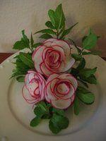 Radish Roses by Chuncarv