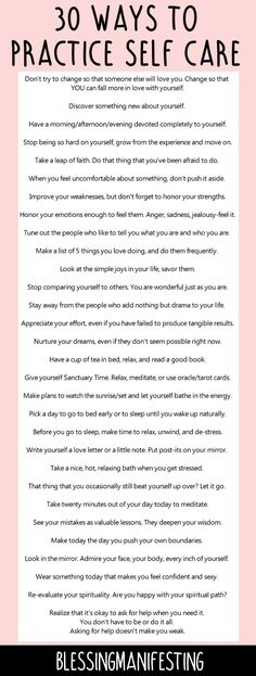 60 ways to practice self care and love yourself! self love club, self care, self love inspo, love yourself, self care ideas Affirmations, Paz Mental, Self Care Activities, Self Empowerment, Self Acceptance, Self Healing, Self Care Routine, Self Development, Personal Development