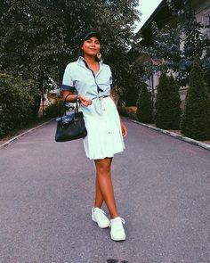 Sara Carvajal de Popa (@saracarvajaldepopa) • Instagram photos and videos Shirt Dress, Photo And Video, Instagram, Videos, Photos, Shirts, Outfits, Dresses, Fashion