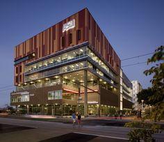Metal Sales Creates Striking Custom Facade for ASU School of Journalism