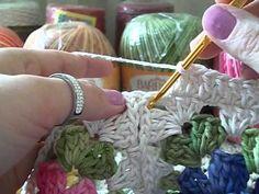 Jogo de Banheiro em crochê - Tampa do Vaso # Flor Jade - YouTube