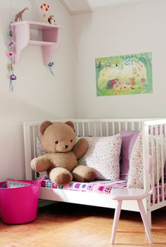 Another great ideas for kids entertainment. -28 Inspirational Ways How to Repurpose Old Baby's Cribs