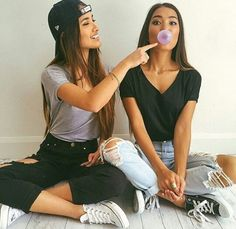 Imagen de girl, friends, and fashion