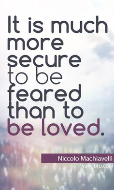 Because to be loved entitles a sense of obligation.