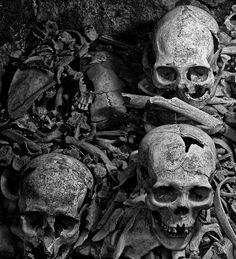 Cemeteries Ghosts Graveyards Skulls Spirits:  Skulls of the Dead.