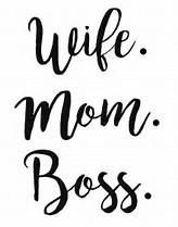Wife Mom Boss Vinyl Car Decal Bumper Window Sticker Any Color Multiple Sizes Jenuine Crafts Silhouette Cameo Projects, Silhouette Design, Silhouette Files, Vinyl Crafts, Vinyl Projects, Wife Mom Boss, Cricut Explore Air, Cricut Creations, Vinyl Designs