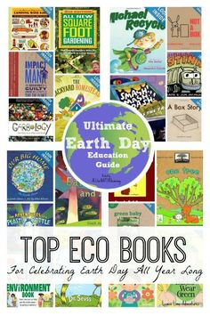 Celebrate Earth Day All Year Books from ALLterNATIVElearning & Lemon Lime Adventures.