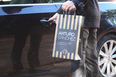 Bolsas de papel de lujo personalizadas.