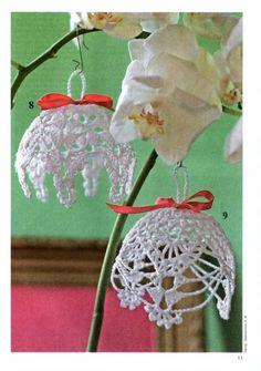 Navidad: ideas de manualidades adornos de ganchillo para el árbol de navidad | hacer ganchillo hechos a mano, artesanía