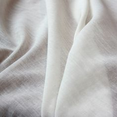 Organic Cotton Voile - Natural