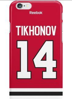 Viktor Tikhonov from KHL phone case