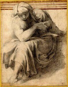 Pellegrino-Tibaldi-Sibyl-c1549-drawing-BM-Richardson.jpg (607×786)