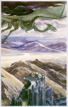 'Nazgul Over Cirith Ungol' by Alan Lee