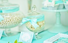 Tiffany Inspired Party | Candy