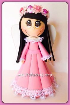 Angel Fofucha  3d Fofucha Doll  on Etsy, $27.50 #Angels #fofuchas #etsy