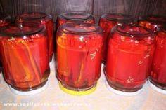 Sterilované kapie | jitulciny-recepty.cz Fruit Preserves, Salty Foods, Marmalade, Graham Crackers, Pickles, Rum, Mason Jars, Salsa, Food And Drink
