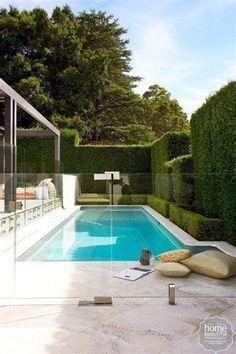 Stylish Pool Fence Ideas