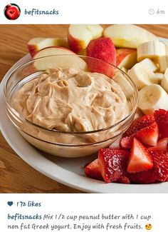 Great for dipping fruit