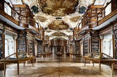 Abadia de Sant Gallen. Suiza