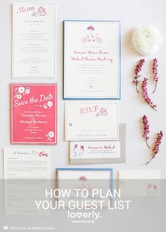 How to Plan Your Guest List (Photo by Hello Lucky via Wedding Chicks)