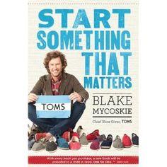 Start something that