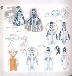 Concept art of Mimori Togo from Yuki Yuna Is a Hero.
