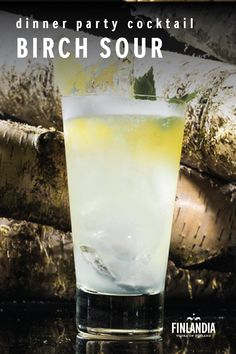 Master the vodka and the other flavours will follow. Using Finlandia Vodka, this cocktail is easy to make and fun to serve. Shake and garnish this delicious dinner party cocktail recipe with a lemon twist. Cocktail Party Food, Cocktail Recipes, Cocktails, Vodka Recipes, Camping Set, Shake, Lemon, Dinner, Tableware