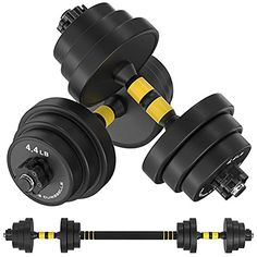 At Home Workouts, Gym Workouts, Gym Fitness, Fitness Equipment, No Equipment Workout, Health Fitness, Adjustable Dumbbell Set, Weights Dumbbells, Free Weights