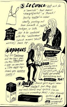 5 Essentials pg 2 by illustrator Badaude