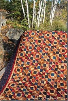 Grandpa's Best Quilt. Deb: Lots of pretty quilts on this Tamarack Shack Longarm Quilt Blog