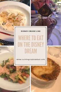 Looking for where to eat while on the Disney Dream? Check out this post and find everything from quick service to main dining room information for your next Disney Cruise Line vacation! Disney Cruise Tips, Disney Dream, The Creator, Vacation, Dining Room, Food, Check, Vacations, Essen