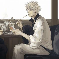 Ice creammmmmm ! Gintama, Gintoki